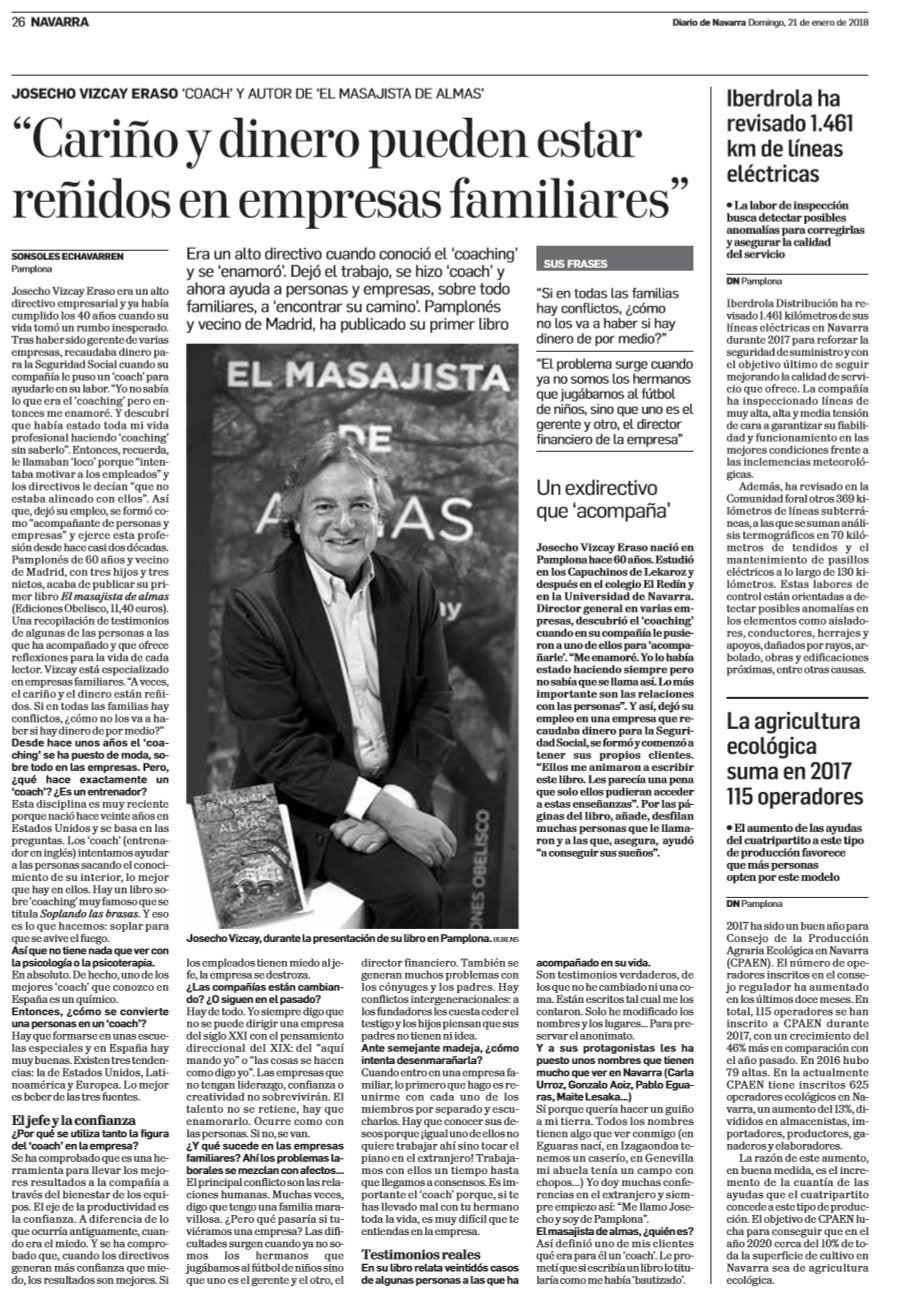 EntrevistaDiarioNavarra
